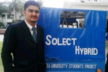 Rashid Alam Hunzai & Team: Invention of Solar and Electric Rickshaw