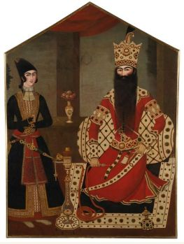 Royal Portrait of Fath 'Ali Shah to be Offered at Auction in London | ArtsIslamica