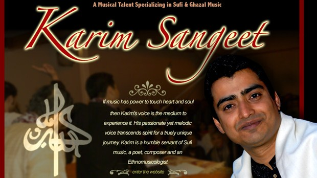 Artist Karim Gillani made it to Round 3 of CBC Searchlight Contest: Vote for him