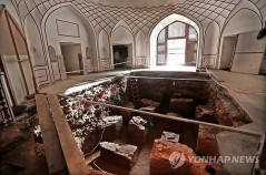 Aga Khan Trust for Culture Restoring Shahi Hamam - The only surviving public bath from the Mughal era in Pakistan