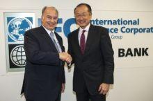 World Bank's President Welcomes His Highness the Aga Khan
