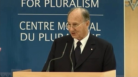 NEW SPEECH: His Highness the Aga Khan's remarks introducing Ant?nio Guterres, The Global Centre for Pluralism?s Third Annual Lecturer (Ottawa, Canada)