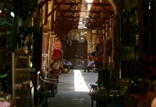 Moez Ledin Allah Street in Cairo