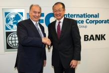 World Bank's President Welcomes His Highness the Aga Khan