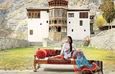 Fashion Shoot at Khaplu Palace