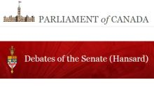Statement in Canadian Senate on Roshan Thomas