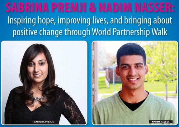 Sabrina Premji & Nadim Nasser: Two Amazing Young Professionals Taking Steps to End Global Poverty