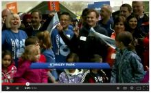 Thousands of people gather in Stanley Park for 30th annual World Partnership Walk