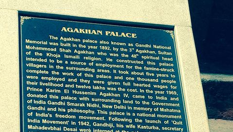 Aga Khan Palace India: Resting Place for Mahatma Gandhi
