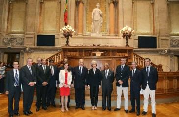 Portuguese Parliament receives His Highness the Aga Khan