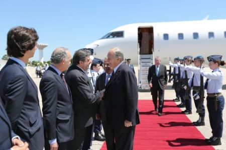 TheIsmaili.org: Mawlana Hazar Imam arrives in Portugal ahead of North-South prize ceremony