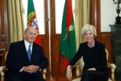 2014: The President of the Assembly of the Republic receives the His Highness Prince Karim Aga Khan (Assembleia da Reublica.pt)