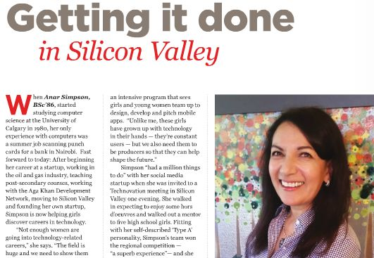 Anar Simpson: Getting it done in Silicon Valley