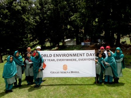 Serena Hotels celebrates World Environment Day in Gilgit