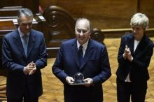 Getty Images: Prince Shah Karim Al Hussaini Aga Khan receives 2013 North-South Prize