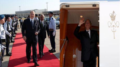 Portuguese Honour Guard bids Farewell to Mawlana Hazar Imam