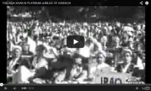 Historical Video: His Highness the Aga Khan III's Platinum Jubilee in Karachi
