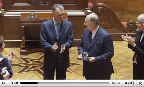 President Cavaco Silva's Speech in Portuguese Parliament honoring His Highness the Aga Khan