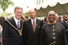 Ottawa Mayor Jim Watson extended an invitation to South African expatriate Amyn Keshavjee
