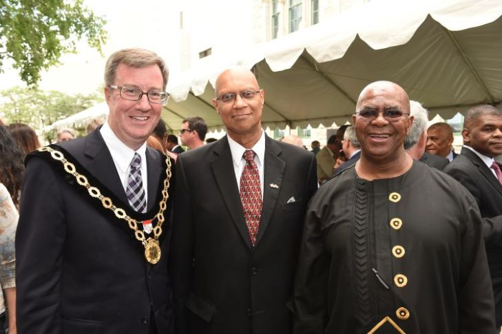 Ottawa Mayor Jim Watson extended an invitation to South African expatriate Amyn Keshavjee