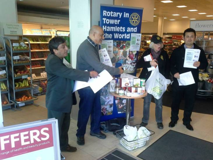With Ismaili Centres as its founding organization, Bow Food Bank launches in London