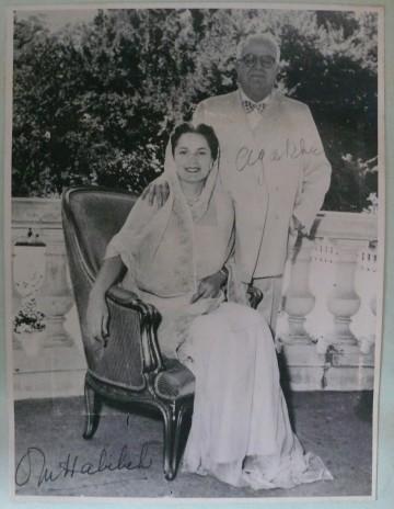 His Highness Aga Sir Sultan Muhammad Shah, Aga Khan III and Mata Salamat, Princess Yvonne Aga Khan
