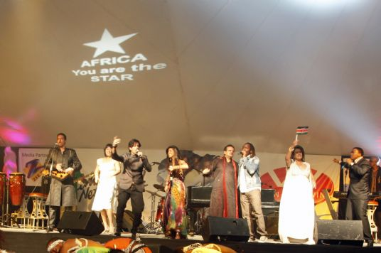 Alisha Salim Sulaiman - Africa You are the Star