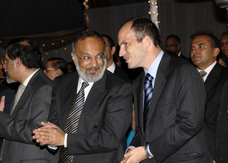 Zul Abdul, President - Ismaili Council for Kenya in conversation with Prince Hussain Aga Khan