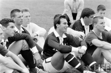 His Highness the Aga Khan at Harvard - coaching moment (Image - Life Magazine)