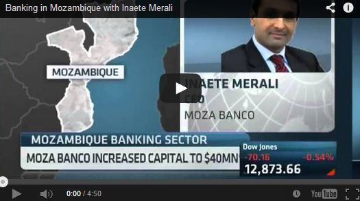 CNBC Africa: Banking in Mozambique with Inaete Merali