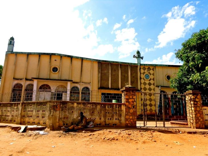 Visiting the old Jamatkhana in Kaliro, Uganda