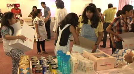 The Ismaili Muslim Community in Leicester Donate to Homeless during Ramadan