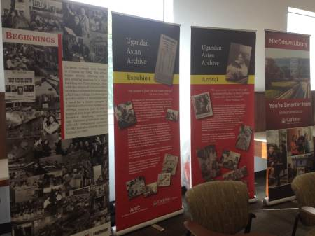 Carleton University Ottawa launches the Uganda Collection, via Tasneem Jamal