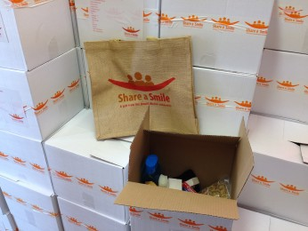 Ismaili Muslim Community share a smile | Action Homeless