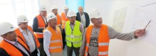 Naryn Vice Governor and UCA Board Executive Committee Visit Naryn Campus Site