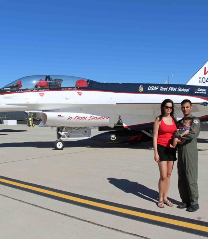 Jameel Janjua: Canadian tops USAF test pilot course | Royal Canadian Air Force