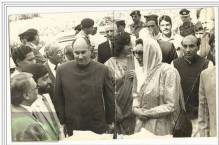 Historical Photograph: His Highness the Aga Khan with Prime Minister of Pakistan