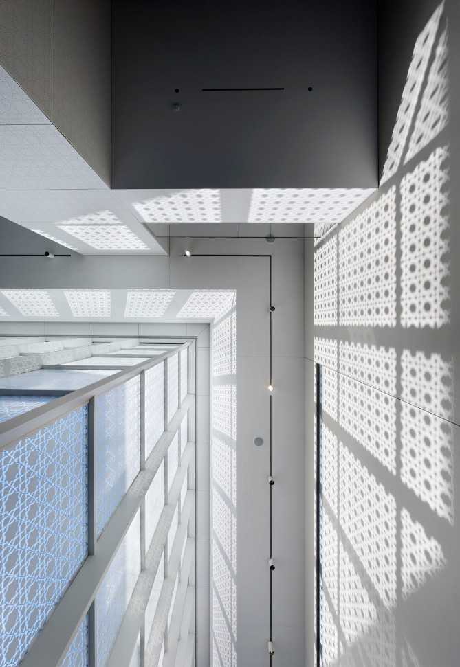 Aga Khan Museum Light Shadow Geometry 2 - Architectural Photography by Tom Arban