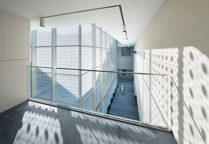 Aga Khan Museum Light Shadow Geometry 3 - Architectural Photography by Tom Arban
