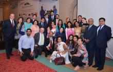 Samina & Mirza Ali Baig are the Stars and Role Models for the World - US Ambassador for Pakistan