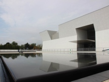 CBC - The reflective pools outside the Aga Khan Museum were designed by Lebanese landscape architect Vladimir Djurovic. (Zulekha Nathoo:CBC)