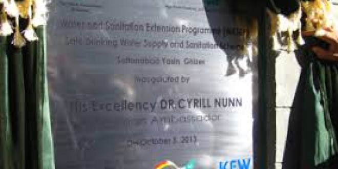 Safe drinking water facilities inaugurated in Gilgit