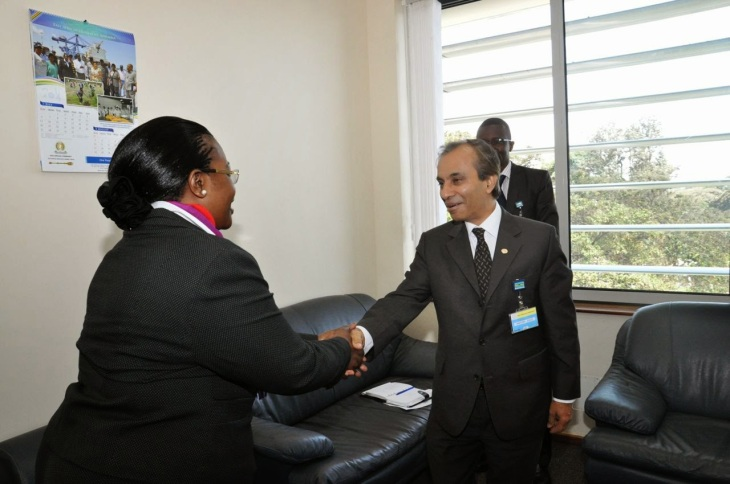 EALA Speaker, Aga Khan Development Network Representative in Uganda, H.E. Ambasador Mahmood Ahmed hold Talks