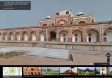 Stroll through the grounds of Humayun's Tomb using Google Street View