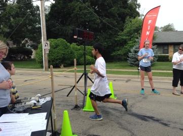 St. John Run for Life 5K Run/Walk July 26, 2014 Total time: 35:03.6