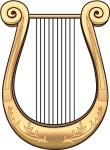 A Greek lyre