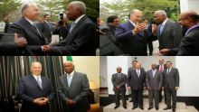 His Highness the Aga Khan with Vice President of Tanzania