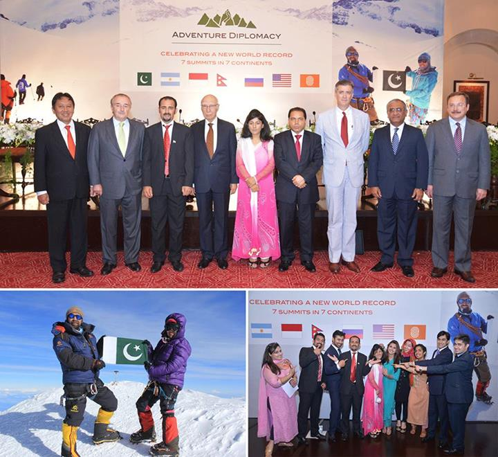 Serena Hotel's Warm Welcome for Mountaineering Siblings Samina & Mirza Ali Baig