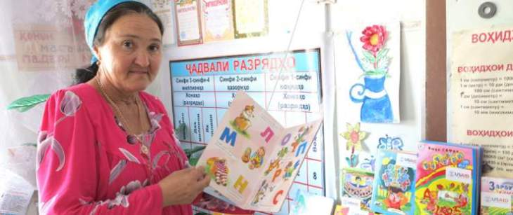 Children in Tajikistan: Reading Their Way Out of Poverty