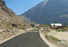 UCA Formally Hands Over Dasht Village Road to Khorog Municipality